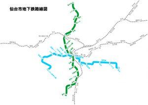 仙台路線図