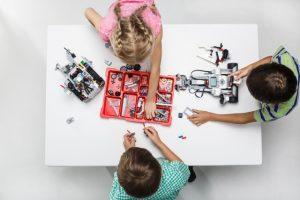 ロボット教室、人気です
