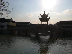 雰囲気のある運河沿い