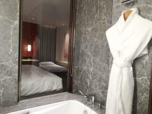 バスルームが豪華